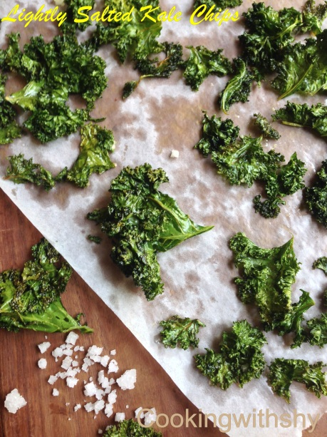 Kale chips watermark