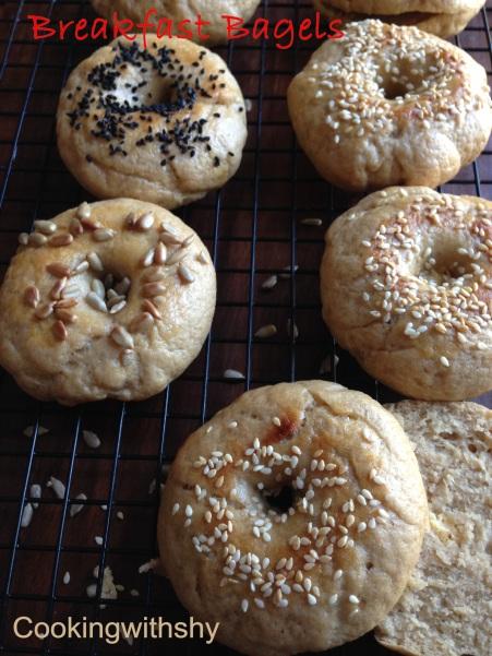 Breakfast bagels watermark