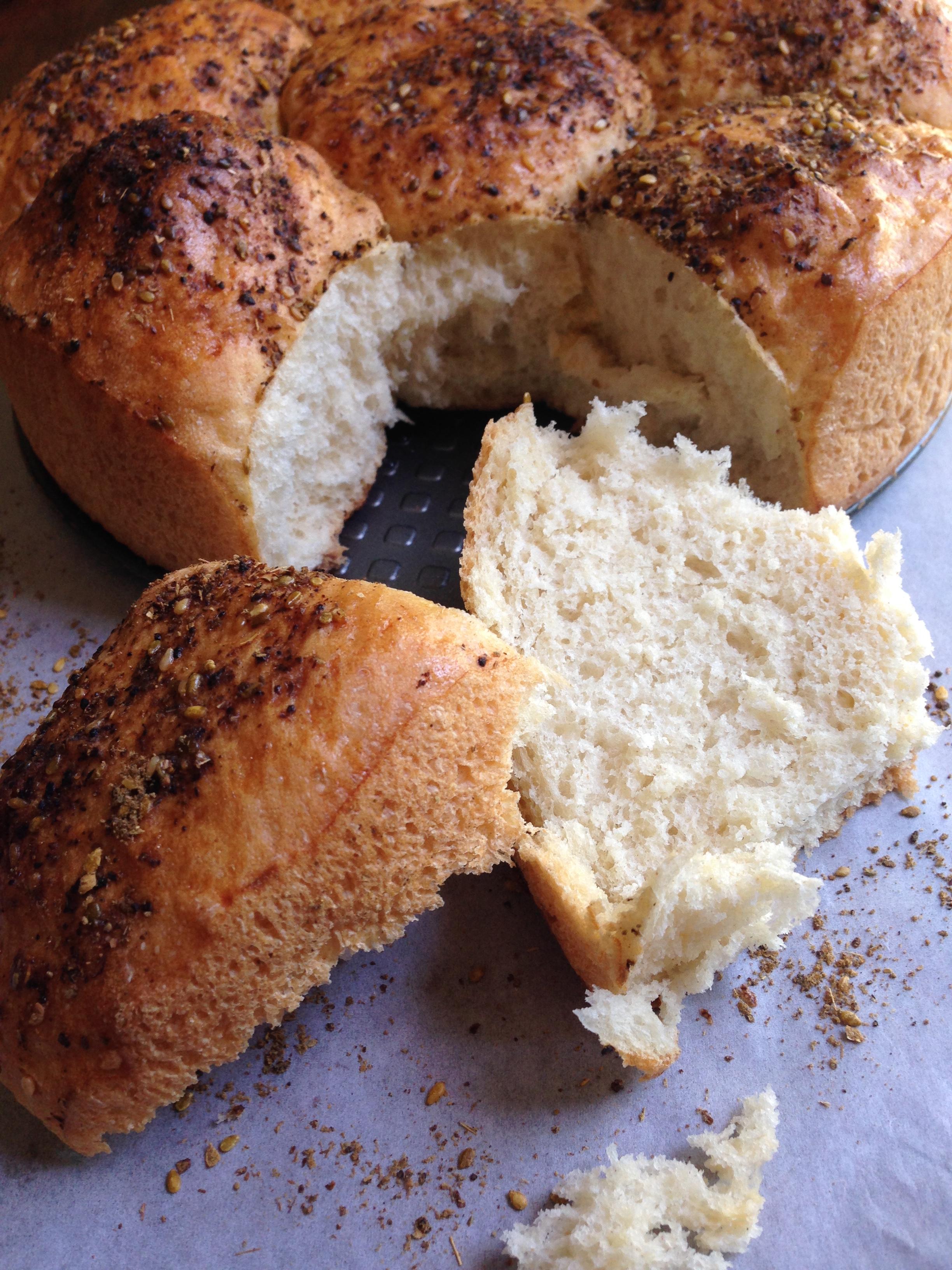 Buttermilk Cluster Rolls Recipe — Dishmaps