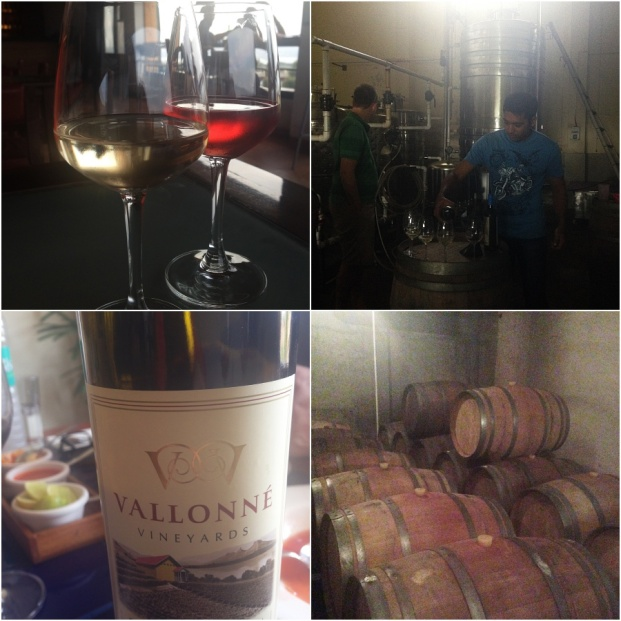 Vallonne Collage tasting