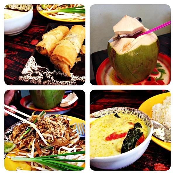 Vat Arun food