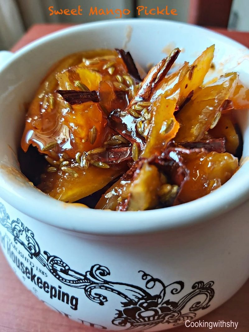 Celebrating Summer: Sweet Mango Pickle