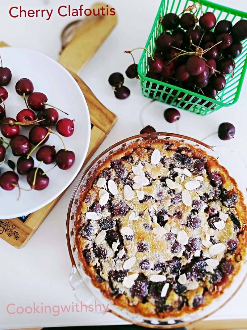 Summer Baking Just Got Better: Cherry Clafoutis