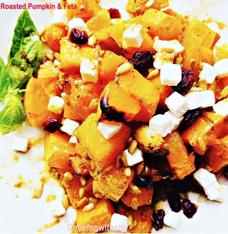 Roasted Pumpkin & Feta Salad